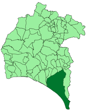 Map of Almonte (Huelva).png