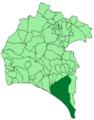 Map of Almonte (Huelva).png