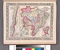 Map of Brazil, Bolivia, Paraguay, and Uruguay; Harbor of Rio Janeiro (inset); Harbor of Bahia (inset); Map of Chili; Island of Juan Fernandez (inset) (NYPL b13663520-1510826).jpg