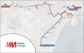Image illustrative de l'article Métro léger de Malaga