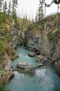Marble Canyon - Kootenay National Park 1.JPG