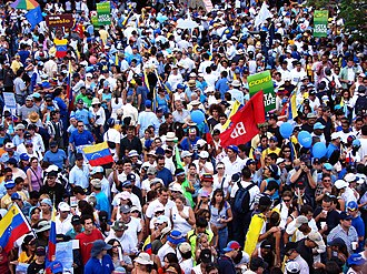 2006 Venezuelan presidential election - Rally in support of Rosales
