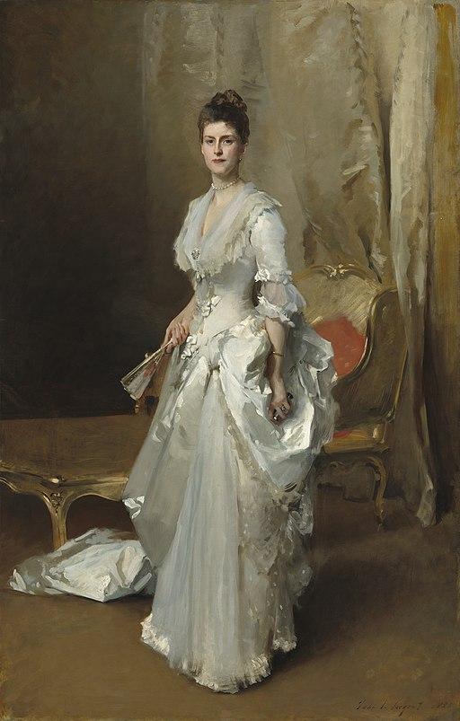 """Margaret Stuyvesant Rutherfurd White"" by John Singer Sargent"