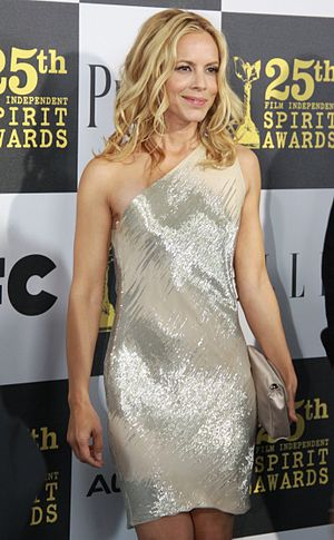 Maria Bello at the Independent Spirit Awards i...