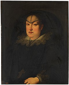 Maria Maddalena of Austria as a widow by Sustermans.jpg