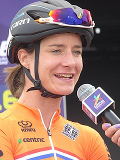 Marianne Vos Dutch cyclist