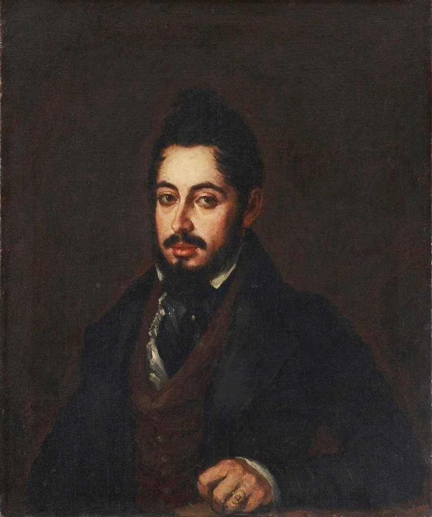 Mariano José de Larra (Museo nacional del Romanticismo de Madrid)