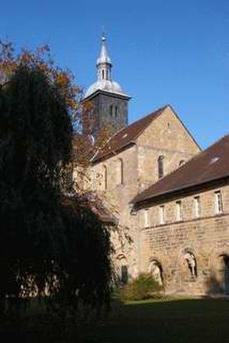 Mariental Abbey - Former abbey church