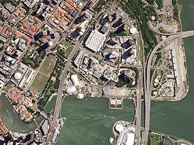 Marina Bay Street Circuit, May 8, 2018 SkySat.jpg