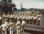 Marines on USS Cowpens (CVL-25) 1943.jpg