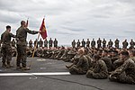 Marines receive a ship safety brief 150312-M-CX588-049.jpg