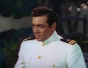 Mario Lanza as Lt. Pinkerton from Madama Butterfly. Lanza sang the role of Pinkerton at the New Orleans Opera in 1948.