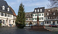 Market Square and Christmas Tree, Oestrich 20141122 1.jpg