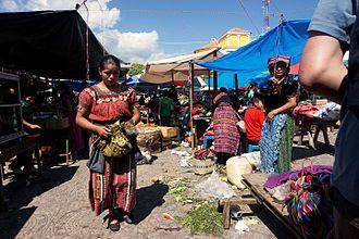 Santa Clara La Laguna - Market in Santa Clara la Laguna, Guatemala