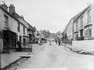 Market street, Newport (Penf) (1899)