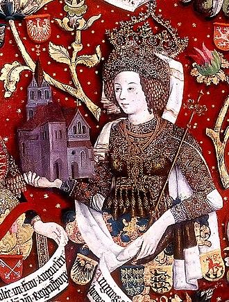 Agnes of Waiblingen - Image: Markgraefin Agnes