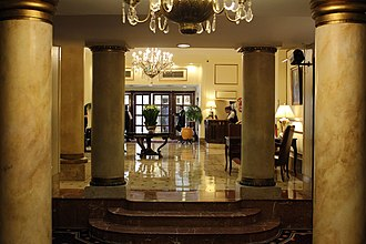 Plaza Hotel Buenos Aires - Partial view of the lobby