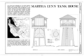 Martha Lynn Tank House, 12899 Viscano Place, Los Altos Hills, Santa Clara County, CA HABS CAL,43-LOSAHI,1- (sheet 1 of 1).png