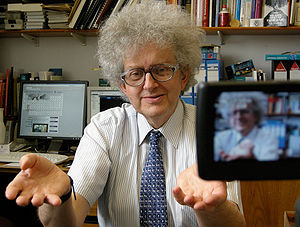 Martyn Poliakoff - Poliakoff during the filming of his online video series