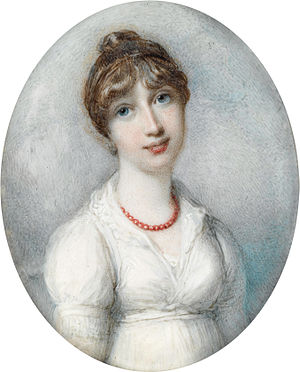 Thomas Pelham, 2nd Earl of Chichester - Mary Henrietta Juliana Pelham née Osborne (Richard Cosway)