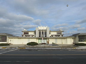 Das Mary Jeanette Murray Bath House an der Nantasket Avenue