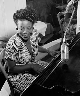 Mary Lou Williams American pianist