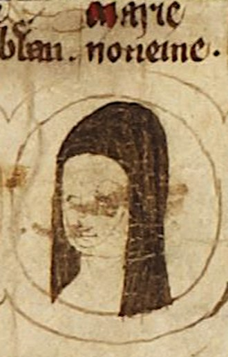 Mary of Woodstock - Mary depicted on the family tree of the kings of England