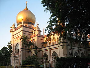 Sultan Mosque Singapore Picture on Masjid Sultan   Wikipedia  The Free Encyclopedia