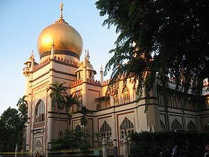 Masjid Sultan - Masjid Sultan at Muscat Street in Kampong Glam