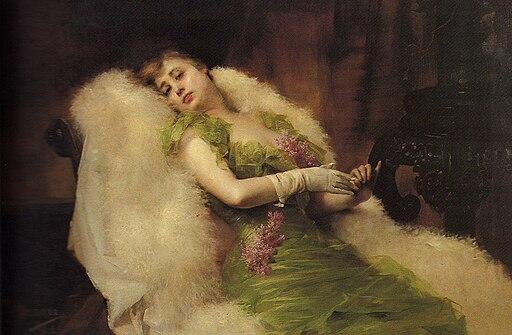 Masriera reclining lady 2