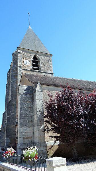 Clocher de l'église de Massangis