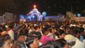 Massive crowd at Dr. Babasaheb Ambedkar Marathwada University gate on the eve of Namvistar Din celebrations.png