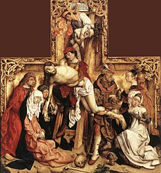 Master of the Saint Bartholomew Altarpiece: Descent from the Cross