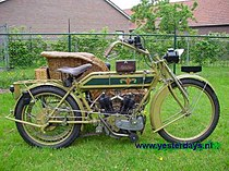Matchless 2-Speed 1000 cc uit 1913