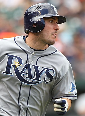 Matt Joyce (baseball) - Joyce with the Tampa Bay Rays