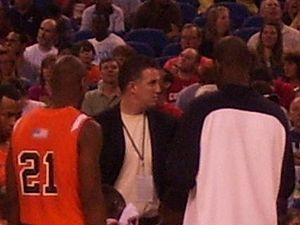 Matt Painter - Painter coaching on the sideline
