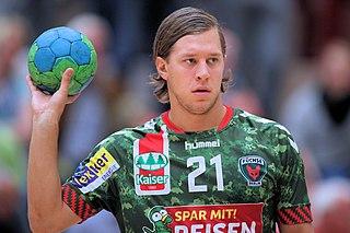 Mattias Zachrisson Swedish handball player