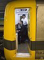 Mauricio Macri anunció la reanudacion del servicio de la line A de subterráneos (8535486230).jpg