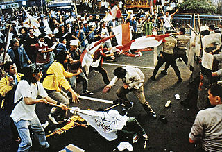 Trisakti shootings Shootings of a student protest in Jakarta, Indonesia on 12 May 1998