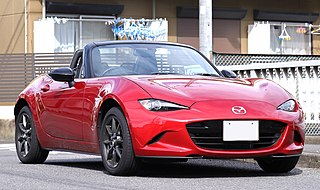 Mazda MX-5 Lightweight two-passenger roadster