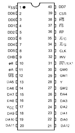 Motorola 6847 - Image: Mc 6847