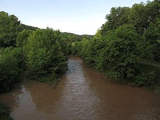 McElroy Creek - McElroy Creek in Shirley