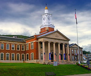 McKean County, Pennsylvania - Image: Mc Kean County Courthouse