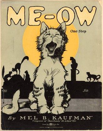 1918 in music - Image: Me Ow 1918