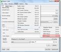 MeGUI iPod encoding selecting MP4 Muxer.png