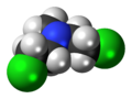 Mechlorethamine 3D spacefill.png