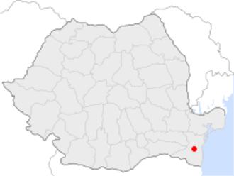 Medgidia - Image: Medgidia in Romania