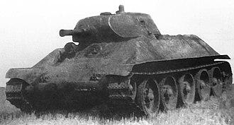 T-34 - Medium tank A-32