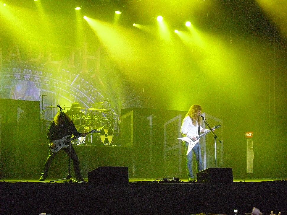 Megadeth Live-Norway Rock 2010