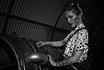 Megan at Newark Air Museum (42626757601).jpg